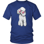 Poodle Dog Sunglasses Funny Tee Shirt, Gifts for Dog Puppy Lovers