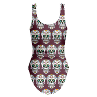 Skull Swimsuit, Sugar Gifts for Day of the Dead