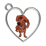Dachshund Charm Bracelets, Funny Gift for Cute Dog Lovers