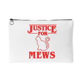 Justice for Mews Cat Coin Purse For Women Girls Boys Men