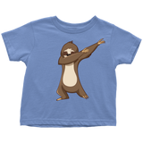 Cute Funny Dancing Sloth Toddler T Shirt Boys Girls Kids