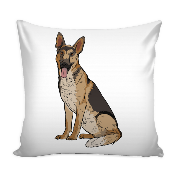 German Shepherd Pillow Covers, Funny Gift for Dog Lovers