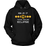 Solar Eclipse 2017 Gift Unisex Hoodie Sweatshirt for Men and Women Plus Sizes
