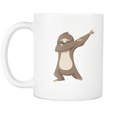 Cute Funny Dancing Sloth Tea Coffee Mug for Men Women