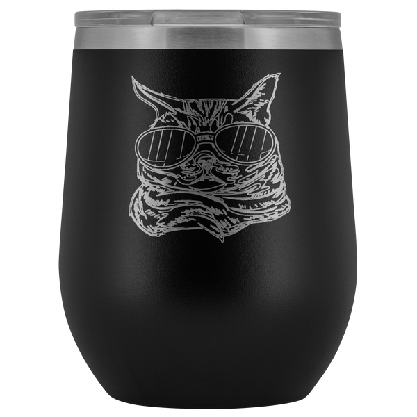 American Shorthair Cat Wine Tumbler, Cat Lover Gifts 9184A