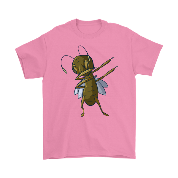 Grasshopper T-Shirt, Dabbing Gifts for Insect Bug Lovers