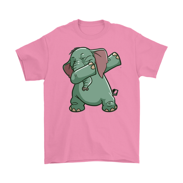 Elephant T-Shirt, Funny Dabbing Gifts for Animal Dance Lovers