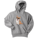 Corgi Dog Youth Hoodie, Funny Dog Lover Gifts 9174A