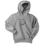 American Wirehair Cat Youth Hoodie, Cat Lover Gifts 9185