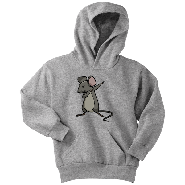 Dabbing Mouse Rat Youth Hoodie, Gifts for Rodent Lovers
