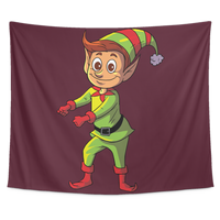 Elf Wall Hanging Tapestry, Floss Dancing Gifts for Dance Lovers