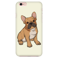 French Bulldog Smart Phone Case for iPhone, Funny Gift for Cute Dog Lovers