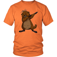 Funny Groundhog Day Shirt Funny Dabbing Dance Groundhog T Shirt for Men Women