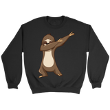 Cute Funny Dancing Sloth Unisex Crewneck Sweatshirt for Men and Women