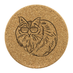 Birman Cat Cork Coaster, Cat Lover Gifts 9188A