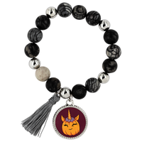 Unicorn Pumpkin Halloween Bracelet, Gifts for Trick Treat Costume Party