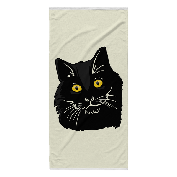 Bombay Cat Beach Towel, Cat Lover Gifts 9189A