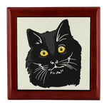Bombay Cat Jewelry Box, Cat Lover Gifts 9189A