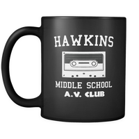 Hawkins Middle School Cassette Tea Coffee Mugs