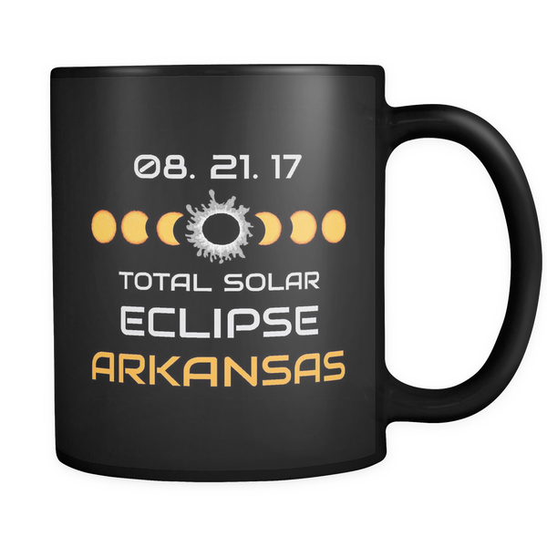 Arkansas Solar Eclipse Coffee Mug