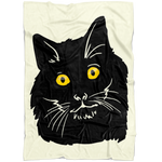 Bombay Cat Fleece Blanket, Cat Lover Gifts 9189A