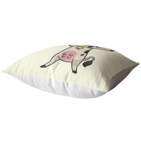Dabbing Cow Pillow, Gifts for Farmers Farm Animal Lovers