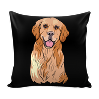 Golden Labrador Retriever Pillow Covers, Cute Gift for Dog Lovers