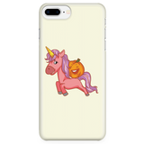 Halloween Unicorn Pumpkin Phone Case for iPhone, Gifts for Trick Treat Party
