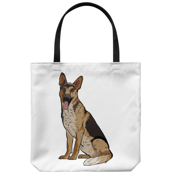 German Shepherd Tote Bag, Funny Gift for Dog Lovers