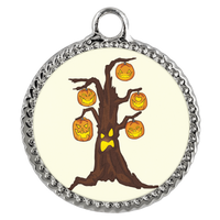 Halloween Pumpkin Tree Bracelet, Gifts for Candy Treat Scary Trick
