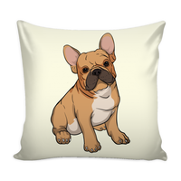 French Bulldog Pillow Covers, Funny Gift for Cute Dog Lovers