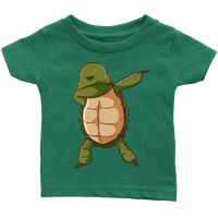 Turtle Shirt Funny Dabbing Dab Dance Tortoise Baby Infant T Shirt Baby Boy Baby Girl