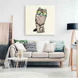 American Curl Cat Wall Decor Canvas, Cat Lover Gifts 9183A
