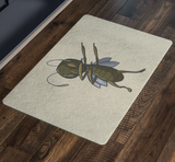Grasshopper Door Mat, Dabbing Gifts for Insect Bug Lovers