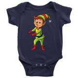 Elf Baby Romper Bodysuit, Floss Dancing Gifts for Dance Lovers