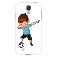 Cute Dabbing Dance Soccer Smart Phone Case for Samsung Galaxy for Boys Men Women