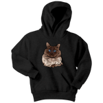 Balinese Cat Youth Hoodie, Cat Lover Gifts 9186