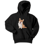 Corgi Dog Youth Hoodie, Funny Dog Lover Gifts 9174