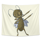 Grasshopper Wall Hanging Tapestry, Dabbing Gifts for Insect Bug Lovers
