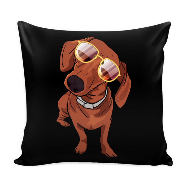 Dachshund Pillow Covers, Funny Gift for Cute Dog Lovers