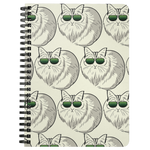 Birman Cat Journal Diary Spiralbound Notebook, Cat Lover Gifts 9188A