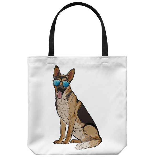 German Shepherd Tote Bag, Cute Gift for Dog Lovers