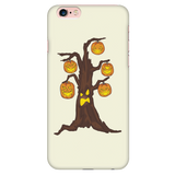 Halloween Pumpkin Tree Phone Case for iPhone, Gifts for Candy Treat Scary Trick