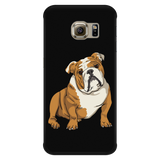 Bulldog Smart Phone Case for Samsung Galaxy, Funny Gift for Cute Dog Lovers
