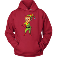 Elf Hoodie Sweatshirt, Floss Dancing Gifts for Dance Lovers