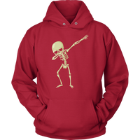 Halloween Skeleton Dabbing Hoodie Sweatshirt, Gifts for Trick Treat Skull Party