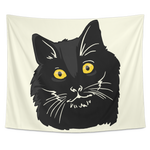 Bombay Cat Wall Hanging Tapestry, Cat Lover Gifts 9189A