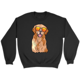 Golden Labrador Retriever Unisex Sweatshirt, Funny Gift for Dog Lovers