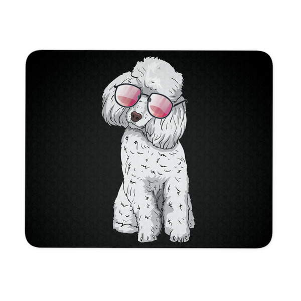 Poodle Mousepads, Cute Gift for Cute Dog Lovers