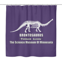 Dustin Brontosaurus Stranger of Things Shower Curtains for Women Men Kids